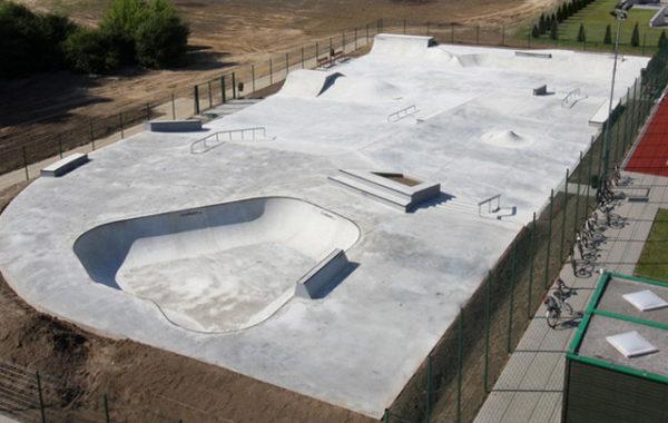 Skate Park w Wolsztynie